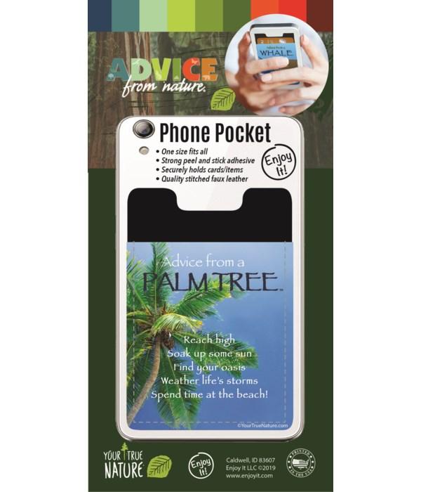 Palm Tree Phone Pocket
