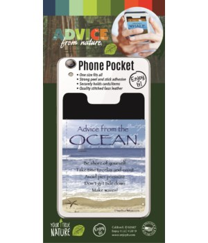 Ocean Phone Pocket
