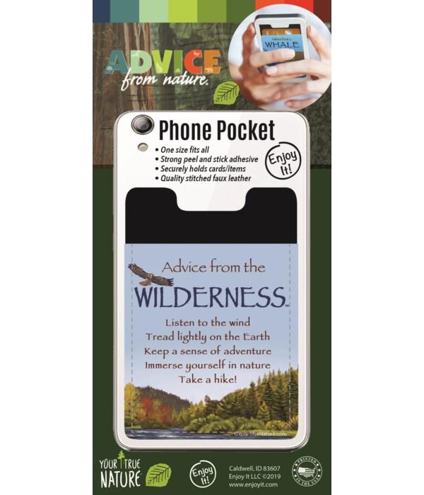 Wilderness Phone Pocket