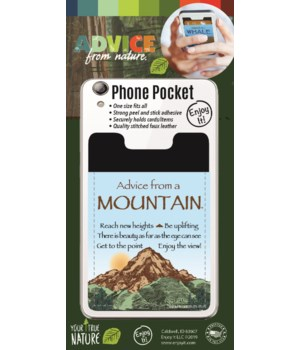 Mountain Phone Pocket