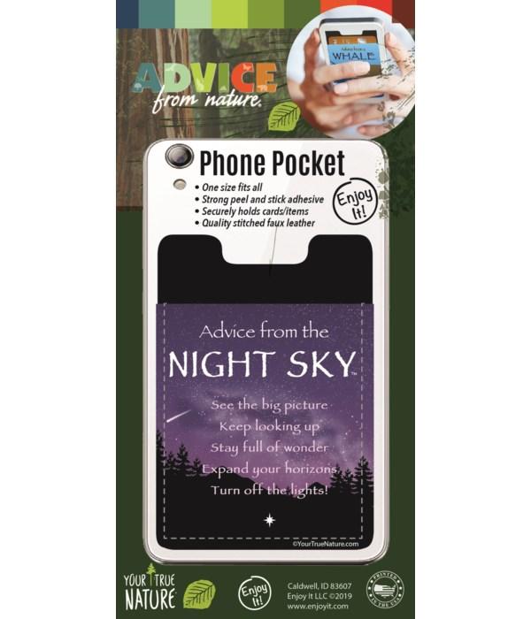 Night Sky Phone Pocket