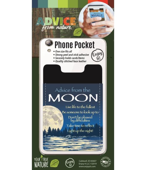 Moon Phone Pocket