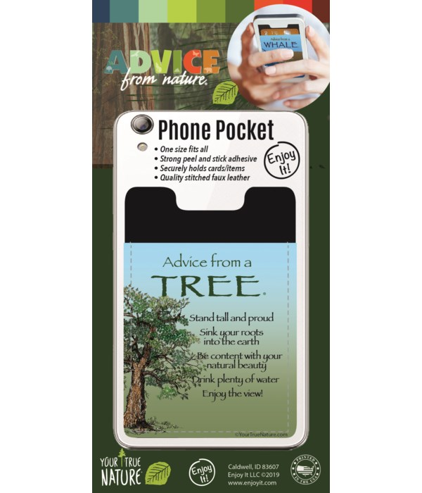 Tree Phone Pocket