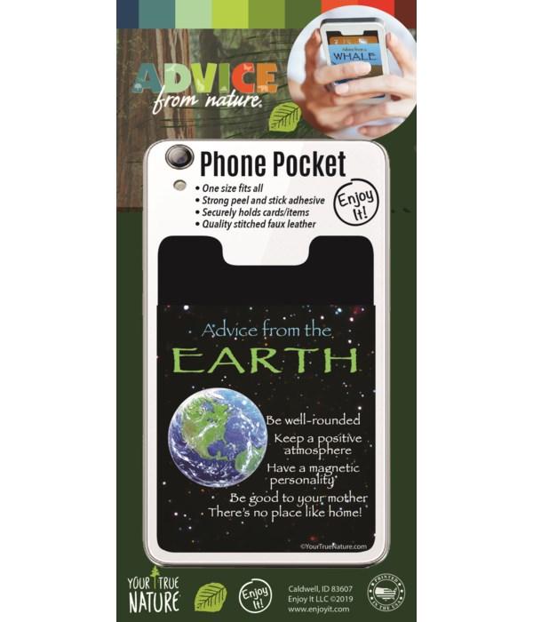 Earth Phone Pocket