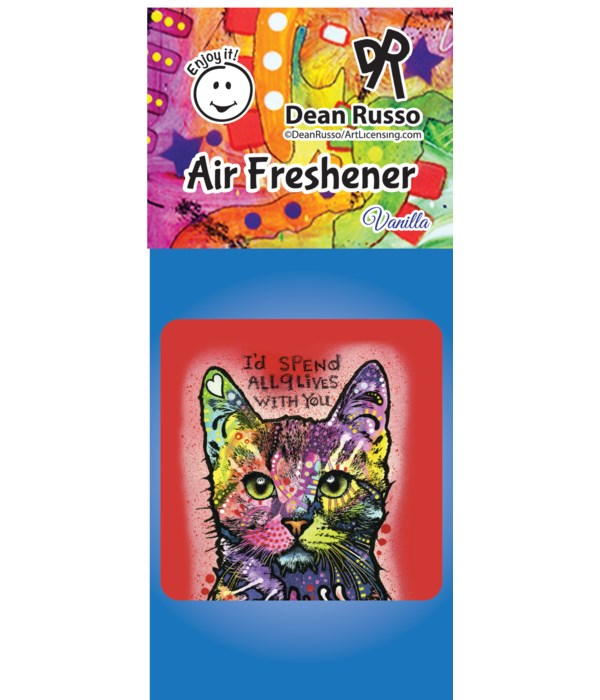 Cat (9 Lives) Air Freshener