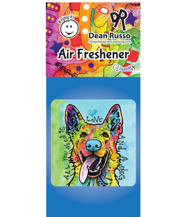 German Shepherd (Love and a Dog) Air Fre