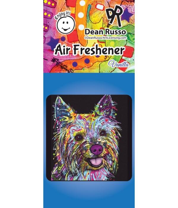 Yorkie Air Freshener