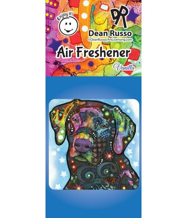 Black Lab Air Freshener