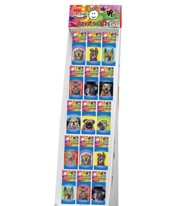 Dean Russo - Pet Collection 1 - Air Fresheners Sidekick Display