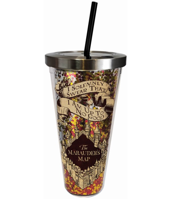 SOLEMNLY SWEAR GLITTER CUP