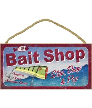 Bait Shop. Stop, Drop & Pop 5x10