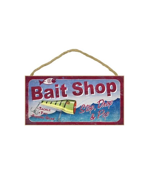 Bait Shop. Stop, Drop & Pop 5x10