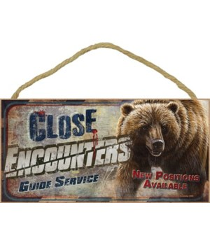 Close encounters guide service. New posi