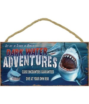 Dark Water Adventures (sharks) 5x10