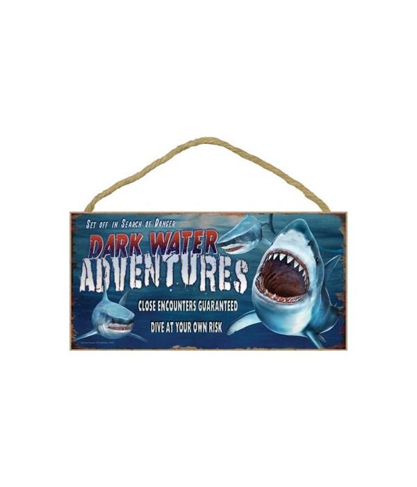 Dark Water Adventures (sharks) 5x10