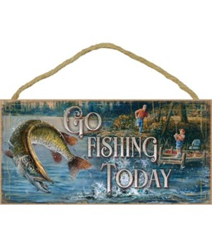 Go Fishing Today 5x10