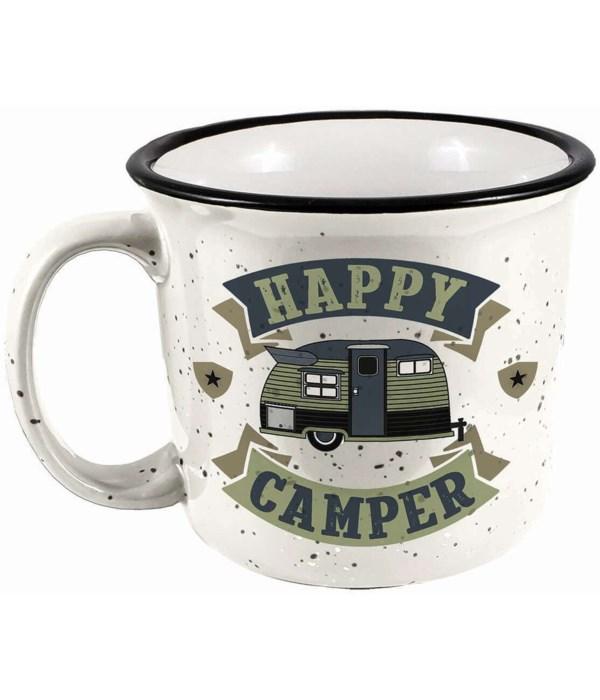 HAPPY CAMPER CAMPER MUG