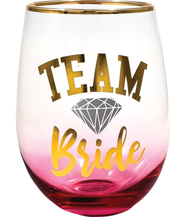 TEAM BRIDE STEMLESS GLASS