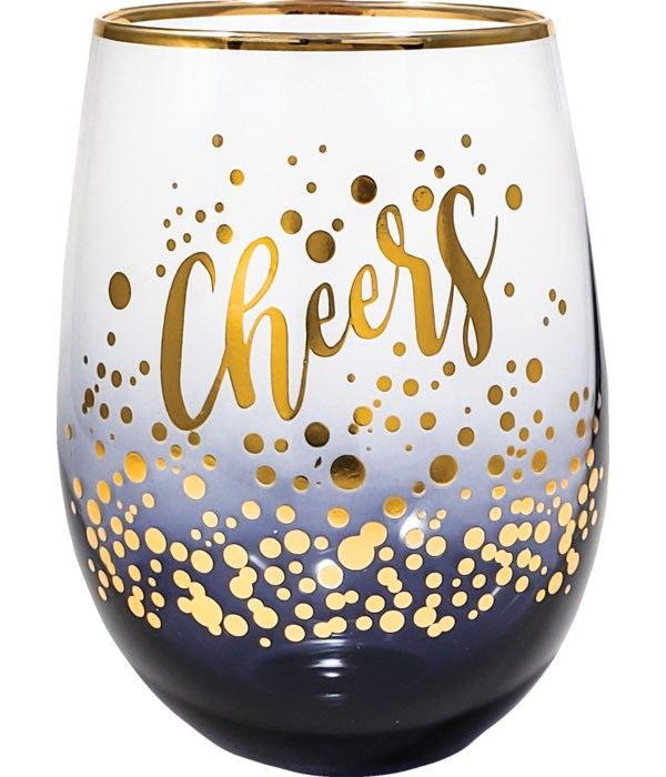 CHEERS STEMLESS GLASS