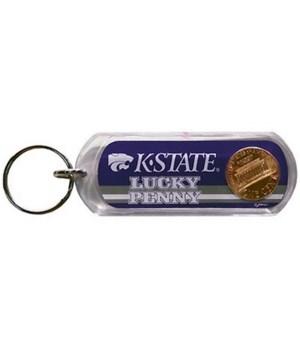 KS-S Keychain Lucite Lucky Penny