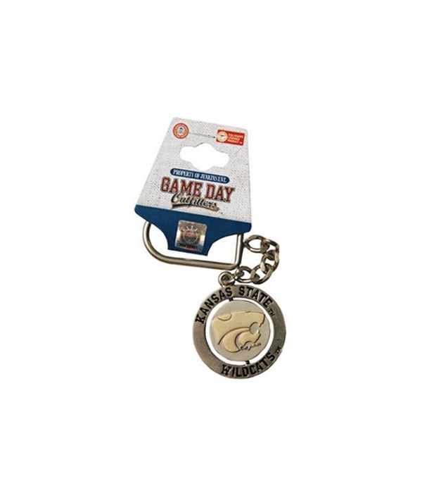 KS-S Keychain Spinner Nickel/Gold