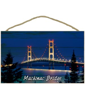Mackinac Bridge - Plank style