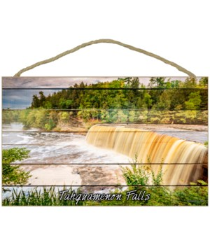 Tahquamenon Falls - Plank style