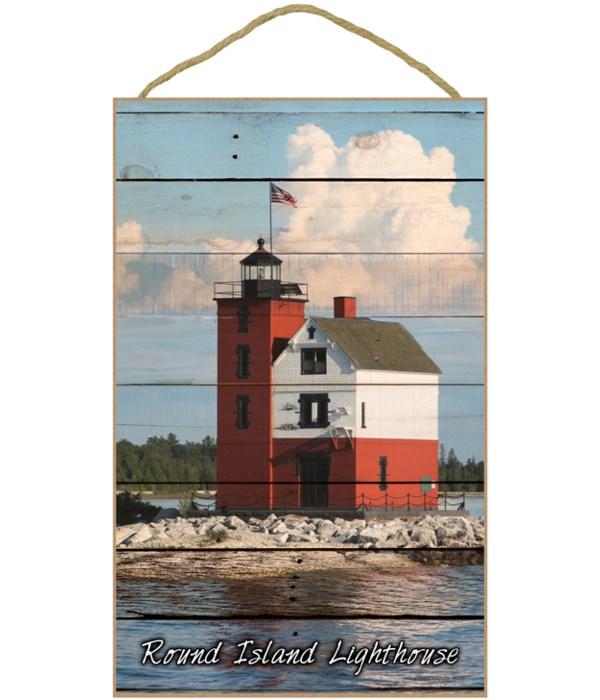 Round Island Lighthouse - Plank style