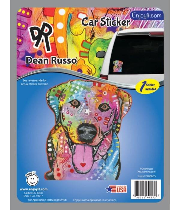 Lab Car Sticker