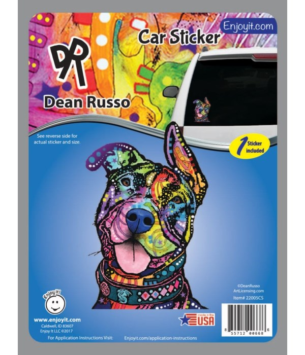 Pit Bull Car Sticker