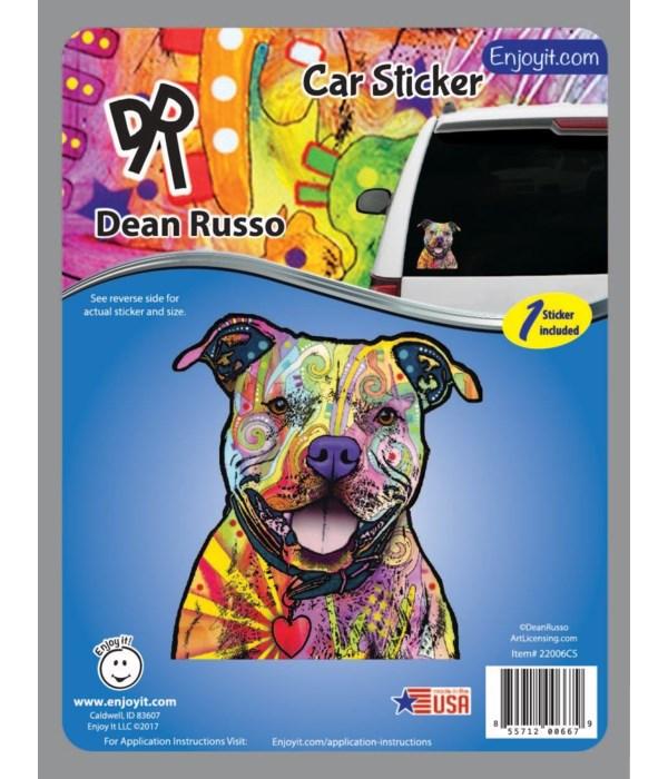 Pitt Bull 2 Car Sticker