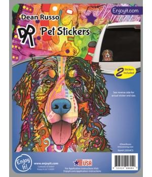 Bernese Mtn. Dog Sticker