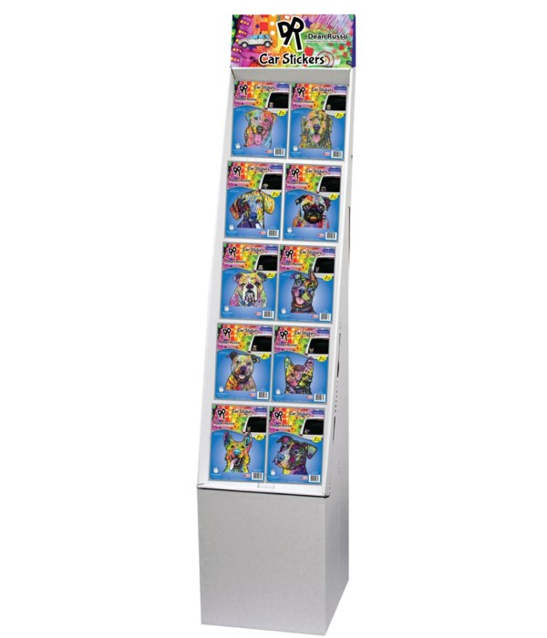 Dean Russo 1 - Pet Car Stickers Floor Display