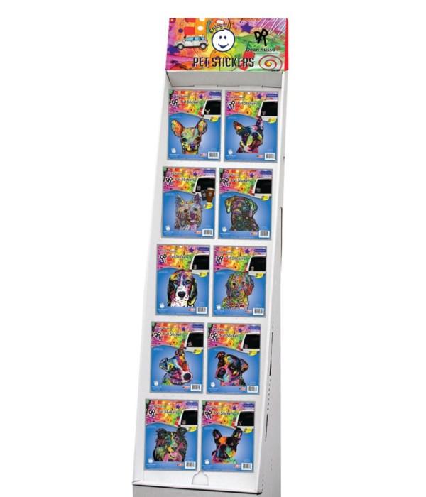 Dean Russo 2 - Pet Car Sticker Sidekick Display