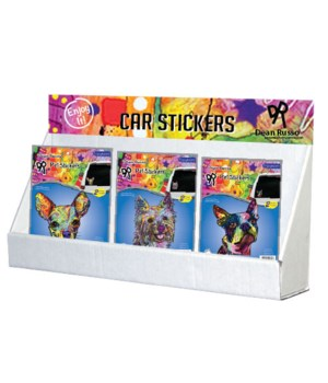 Dean Russo 2 - Pet Car Stickers Small Counter Display