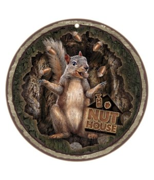 """The Nut House 10"""" D"""
