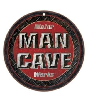 "Motor Man Cave Works 10"" D"