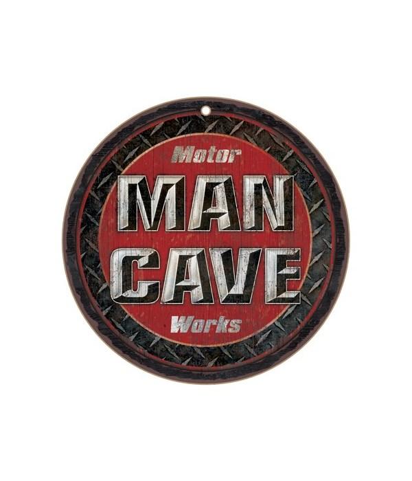 "*Motor Man Cave Works 10"" D"