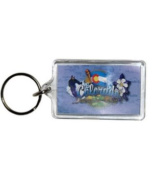 CO Keychain Lucite Elements