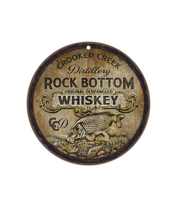 "*Crooked Creek Distillery 10"" D"