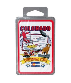 CO Playing Cards State Map 24DP