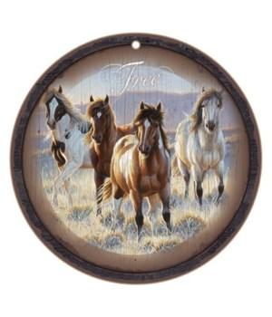 """Free horses 10"""" D"""