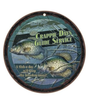 "Crappie Days Guide Service 10"" D"