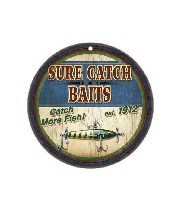 """*Sure catch baits 10"""" D"""