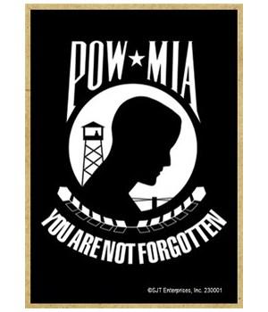 POW - (military)  Prisoner of War logo -
