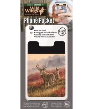 Whitetail Deer Field Phone Pocket