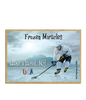 Lake Placid, NY USA - Frozen Miracles (h