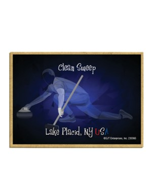 Lake Placid, NY USA - Clean Sweep (curli