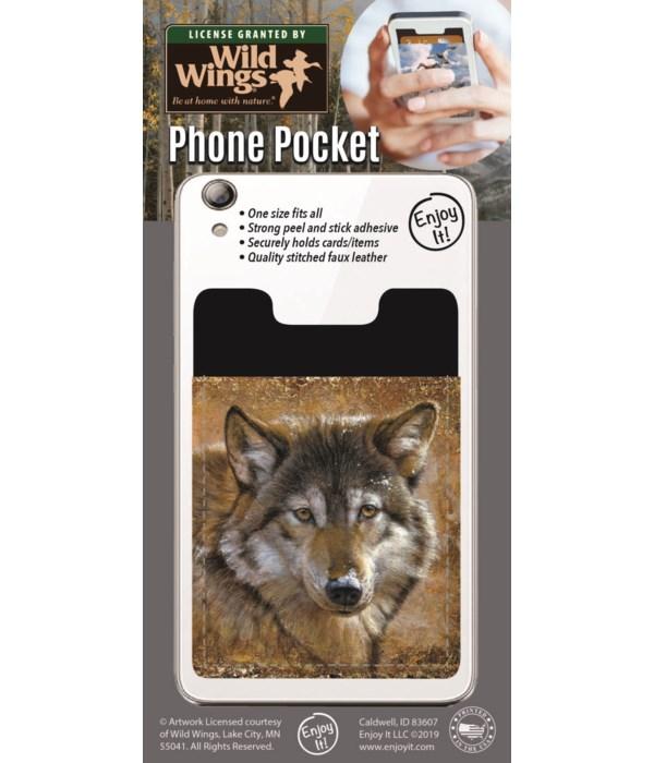 Wolf Phone Pocket