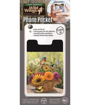 Summer Birds Phone Pocket